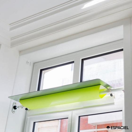 cordon store enrouleur simple homcom store cm de large x cm de long avec poulie store enrouleur. Black Bedroom Furniture Sets. Home Design Ideas