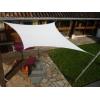 Voile carré blanche 300 x 300 cm