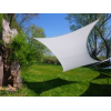 Voile rectangle blanche 300 x 200 cm