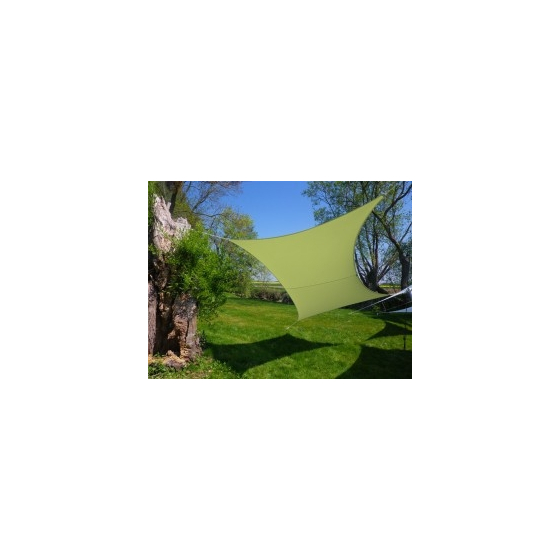 Voile rectangle Anis 300 x 200 cm