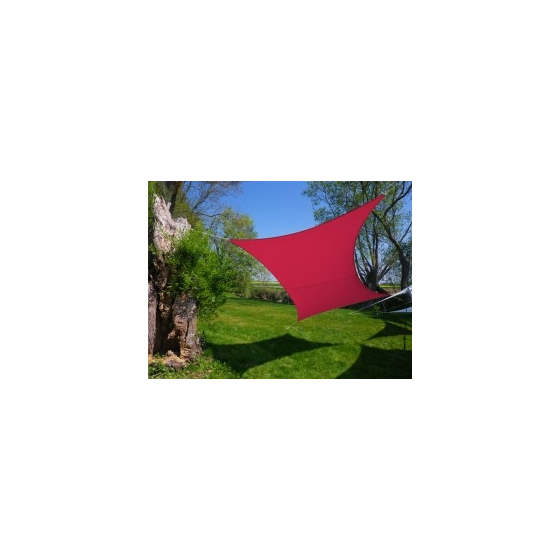 Voile rectangle Framboise 300 x 200 cm