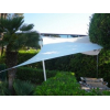 Voile triangulaire blanche 500 x 500 x 500