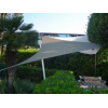 Voile triangulaire Taupe 500 x 500 x 500