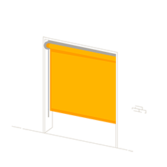Gamme coffre vertical Proscreen® ZIP, autoportée