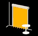 Bandes verticales Gamme Sense - Design unique